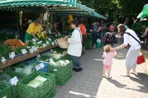 Vom Spielplatz zum Bauernmarkt