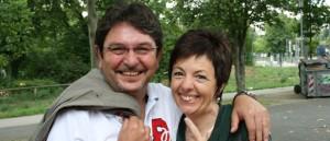 Noch skeptisch gegenüber dem Sommer: Achim und Silvana Gebelhardt