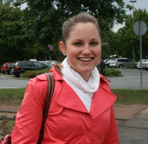 Sarah Richtberg hat ihren größten Vorsatz für 2011 schon erfüllt