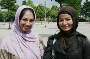 Von links: Atiya Nasir und Ansa Bütt