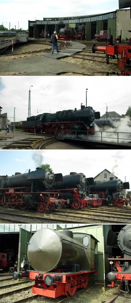 Die Drehscheibe und die Dampfspeicherlok3