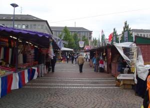 Internationales Schlemmen im Europadorf
