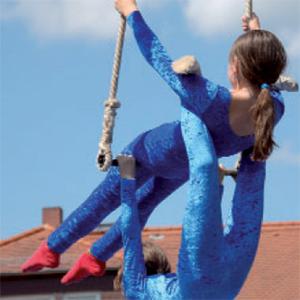 Für viele Kinder ist der Zirkus ein Sprungbrett fürs Leben