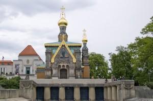 In die Russische Kapelle wird eingebrochen